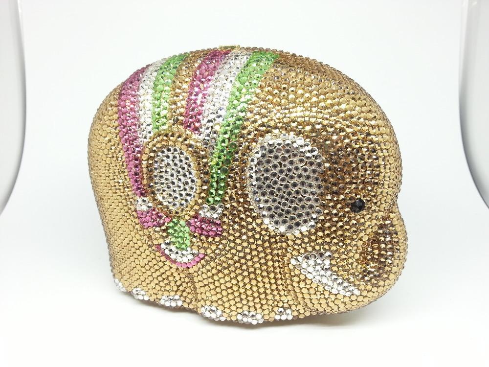 Вечерняя сумка Boutique Pomme Crystal Minaudiere CBG863097-1 цены онлайн