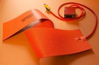 "6"" X 36"" 1200W 220V,w/ Digital Thermostat Controller,Keenovo Flexible Silicone Heater,Guitar Side Bending Heat Blanket"