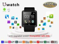 2015 New Bluetooth Smart Watch U10 U10L waterproof U Bracelet Smartwatch wristwatch for iPhone Samsung S5 S4 Note4 HTC Android