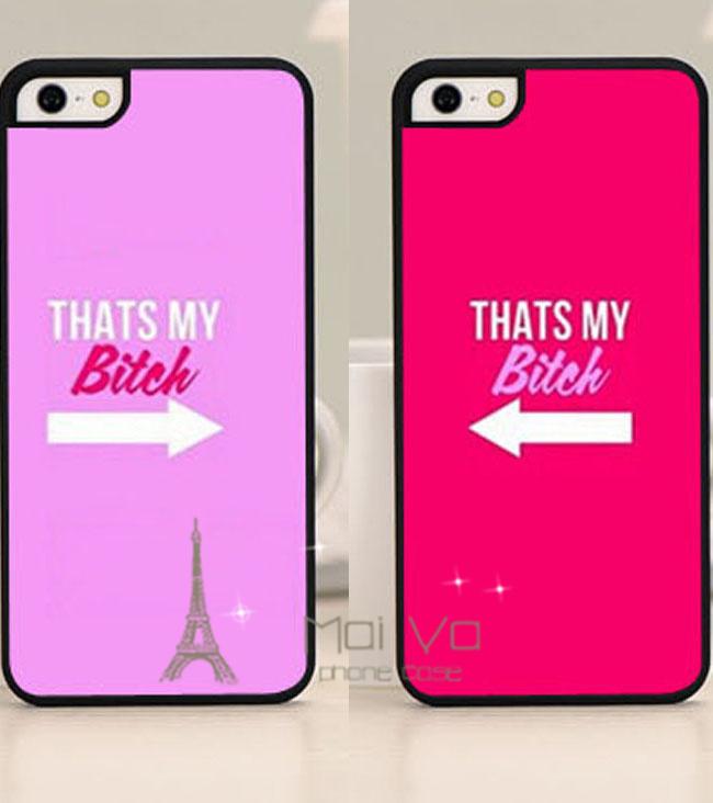 2pcs pair bff that s my bitch best friends set of 2 phone case back