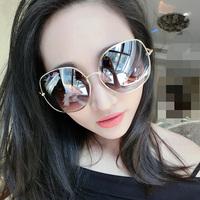 2015 new sunglasses metel frame designer 5 colors sun glasses men UV400 eye glasses female for sport  big box glasses JHSG017