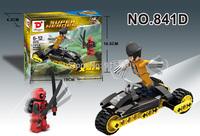 DIY toy action figures the avengers super hero & vehicle building block set toy bricks, eudcational & learning toys 12pcs/lot