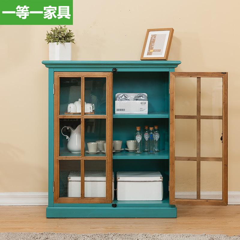 Compra armario despensa de la cocina de madera maciza - Muebles de cocina madera maciza ...