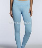 New arrival Solid color light blue Running pants legging Spandex pant Fashion designer Lycra Legging 120 pcs/lot