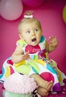 Hot sale 2015 new children's clothing kids Sleeveless princess dress casual girls TUTU dot dresses In stock b11 SV014616