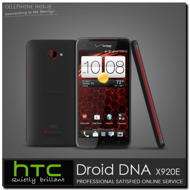5.0 inch HTC Butterfly/Droid DNA Original GSM/CDMA Celular Mobile Phone Unlocked HTC X920E Quad-core 16GB Wifi Android Cellphone(China (Mainland))