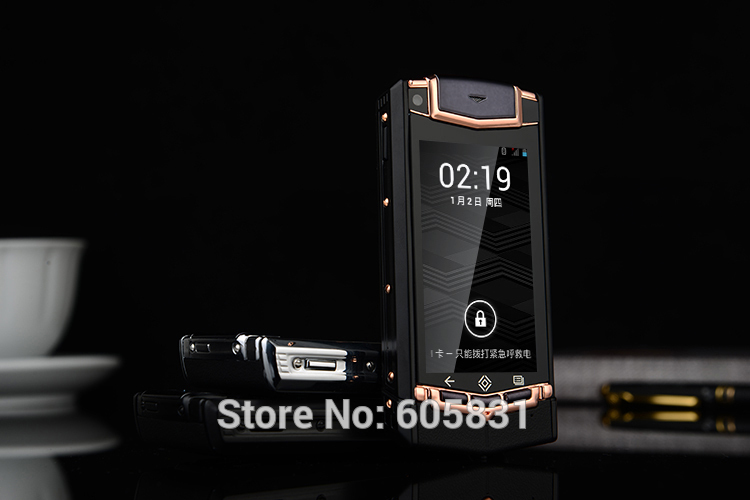Free shipping 2015 New arrive super luxury mini Constellation Ti Smartphone Android 4.2 8GB Unlocked Dual sim cell mobile phone(China (Mainland))