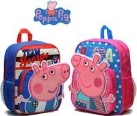 Children's Schoolbag Boys and Girls Peppa pig Cartoon Backpack Schoolbag Peppapig