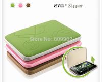 "Free shipping , For general tablet protective case with robot liner bag velvet bag 9.7"""