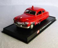 1949 Mercury Fire Chief USA Diecast Vintage Car Model 1:43 Die Cast Vehicle Model On Base SB6