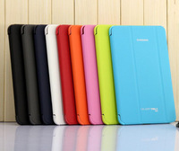Free Screen Protector + Stylus Business Original Folding PU Leather Case Smart Cover For Samsung Galaxy Tab 4 8.0 T330 T331 T335