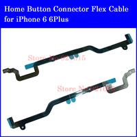 New 10Pcs Original Home Menu Button Extended Connector Flex Ribbon Cable Replacement Repair Parts for iPhone 6 Plus Wholesale
