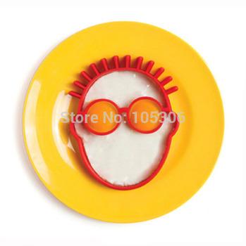 1 шт. кухонные принадлежности завтрак клоун лица силиконовые жареное яйцо плесень блин яйцо кольцо в форме подарок забавный новинка кулинария инструменты