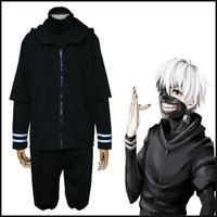 Hot Anime tokyo ghouls Men Cosplay Costume Kaneki Ken uniform 3 pieces a set ACG368