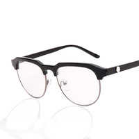 2015 new Fashion Unisex Clear Lens Wayfarer Nerd Glasses,Glasses for Women Wholesale Free Shipping vintage hot sale   JHS003