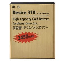 3.8V / 2450mAh Rechargeable Li-Polymer Battery for HTC Desire 310