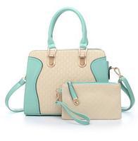 Picture package bag handbag messenger bag one shoulder women's handbag 035h