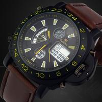 Fashion Men's Wristwatches Casual Quartz Watch Dress Relogio Masculino Military Analog Digital Watches Sports Relojes Hour