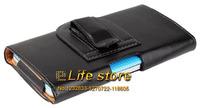 PU Case Belt Clip Case Leather Case Mobile Phone Case  For  Asus Zenfone 5 Lite A502CG