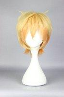 Cute High Earth Defense Club Love!Yumoto Hakone Transforms  yellow Short  cosplay custome wig