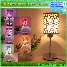 Moda moderna lampada da tavolo lampada da comodino, lampada da letto, trasporto libero e dare una lampadina a led come un regalo!  (China (Mainland))