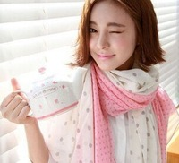 [ Gang fight ]  new autumn and winter female voile shawl long scarf printed scarves manufacturers