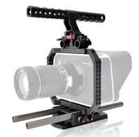 New BMCC camera cage with handle and rod for 15MM system HT-1