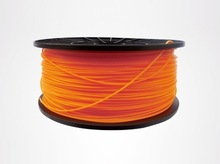 Orange color 3d printer filaments ABS 1.75mm/3mm 1kg plastic Rubber Consumables Material
