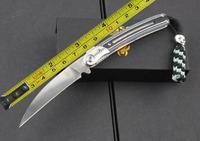 Free Shipping NEW BUSSE Mikta handle D2 STEEL Pocket Folding knife FC05