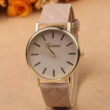 2015 new popular wrist watch vintage women wristwatches leather band quartz watch hot brand name gift Geneva ladies watches gift