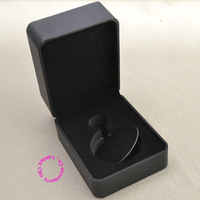 black pocket watch box for fob watches good quality