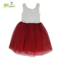 Girls Dress 2015 Lace Casual Dress White Red Girls Costumes Vestidos Kids Clothes Children's Clothing roupas infantil meninas