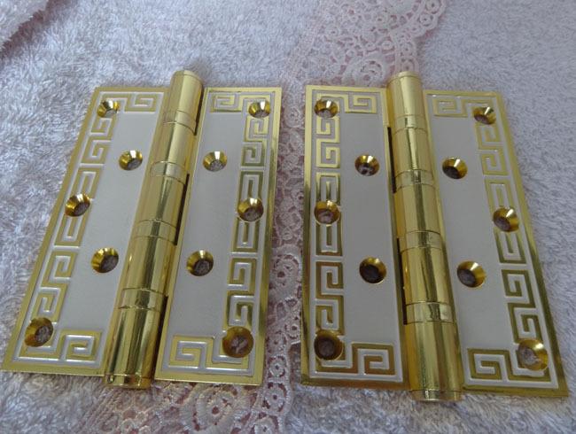 5 inch Brass Door hinge Ball bearing hinge ,brass hinge 2pcs(China (Mainland))