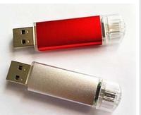 NEW! Hot sale OTG 32GB OTG USB flash drive Support Smart phone+PC mini usb stick pendrive usb flash drive 32gb gift free S245