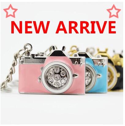 Pen Drive Diamond Camera 8gb 16gb 32gb 64gb Camera Jewelry Usb Flash Drive Flash Memory Stick Pendrive Gift Mini Usb Key Gifts(China (Mainland))