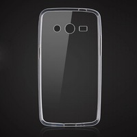 For Samsung Galaxy Core 2 II G355h Phone Cases Clear Crystal Transparent Soft Gel Tpu Cover For Galaxy Core 2 G355h Para Celular