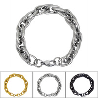 3 Colors Free Shipping High Grade fine jewelry Fashion men's accessary Vintage design Bracelet for Lovers