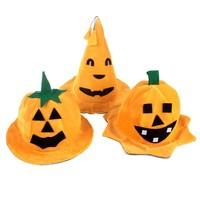 Hot cosoplay Halloween props party pumpkin hat yellow