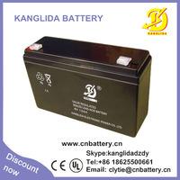 6v 12ah  rechargeable sealed lead acid battery