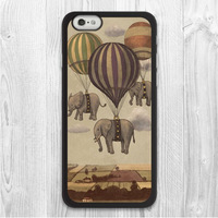 Three Flying Elephants Protective Phone Case For iPhone 6