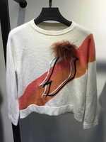 Long Sleeve Sweatshirt 2015 Brand Luxury Women Fashion Sweatshirts Free Shipping
