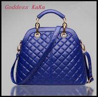 New 2015 Fashion Women Tote Genuine Leather Handbag 4 color can choose bolsas feminina elegant Lady Shoulder bag HD030