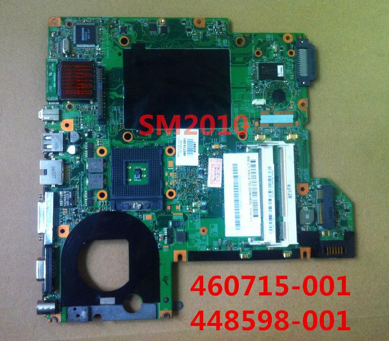 For HP compaq Pavilion DV2000 DV2500 DV2700 V3000 V3500 V3700 Laptop Motherboard 460715-001 448598-001 for intel Notebook PC(China (Mainland))