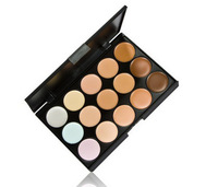 Free shipping Corretivo Concealer Palette Maquiagem makeup Moisturizer Whitening the New 15 Color Concealer, Foundation Cream