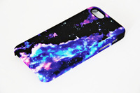 New 3D Full Wrap Print Abstract Galaxy Color  Cover Case for iPhone 5S and iPhone 5  Free Shipping Custom Personalized Case