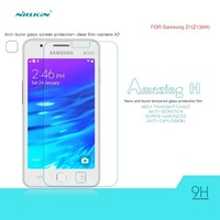 Nillkin Brand 9H Anti-Burst Tempered H Glass Screen Protector Film For Samsung Z1 Z130H,Free Shipping,Retail Package