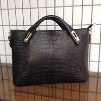 2015 Women Crocodile Grain Hangbag Alligator Women Messenger Bags Europe and America Design Women Shoulder Bags Leather Bags 028