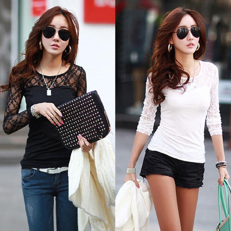 Женские блузки и Рубашки NO 2015 Sheer o s/xxl SKU194543 женские блузки и рубашки 2015 o