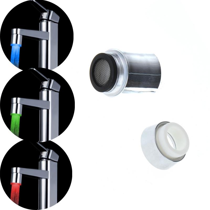 LED Faucet Temperature Control Kitchen Faucet Bath Bathroom Accessories torneira cozinha para pia de banheiro grifos cocina(China (Mainland))