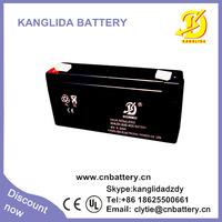 6v 3ah rechargeable sealed lead acid battery